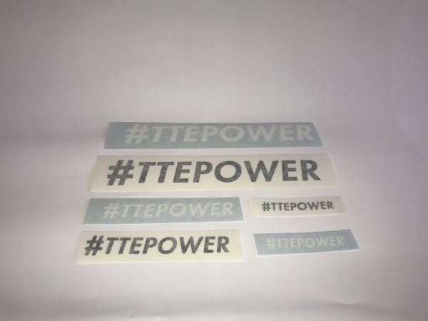 #TTEPOWER Decal Sticker