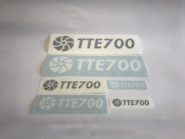 TTE700 Decal Sticker