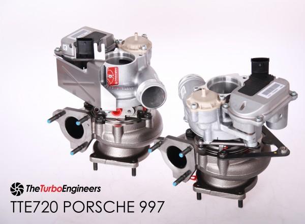 TTE720 VTG UPGRADE TURBOCHARGER 997.2